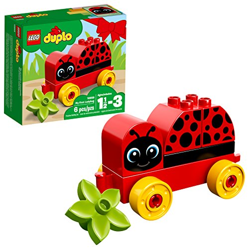 LEGO DUPLO My First Ladybug 10859 Building Blocks (6 Piece)