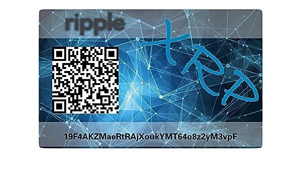 Ripple Paper Wallet Card, hardware Wallet: Amazon.es ...
