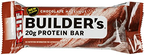 Clif Builder's Protein Bars - Chocolate Hazelnut - 2.4 oz - 12 ct