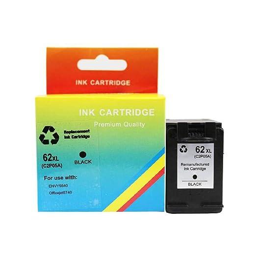 XYANZ Compatible con Cartucho de tóner de la Impresora HP62 para ...