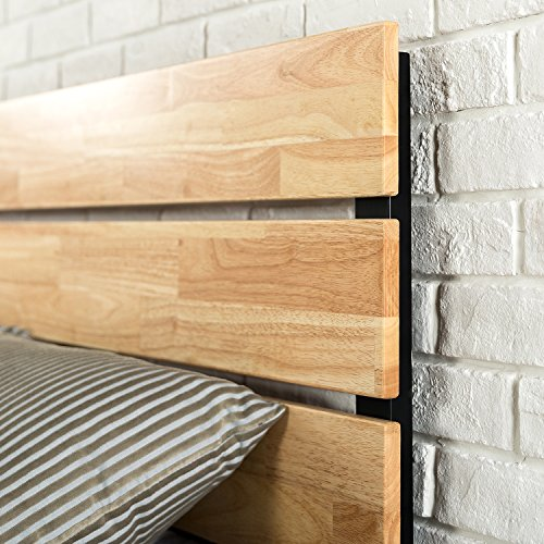 home, kitchen, furniture, bedroom furniture, beds, frames, bases,  beds 11 image Zinus Paul Metal and Wood Platform Bed with deals
