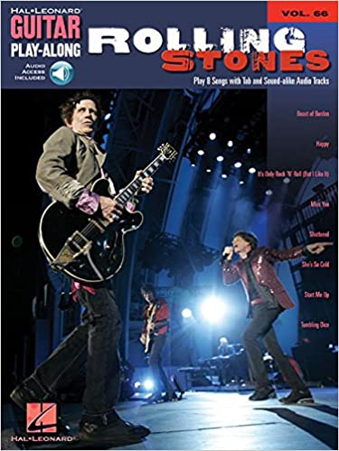 Guitar Play Along Volume 66 Rolling Stones Guitar Tab Book/Cd (Hal Leonard Guitar Play-Along)