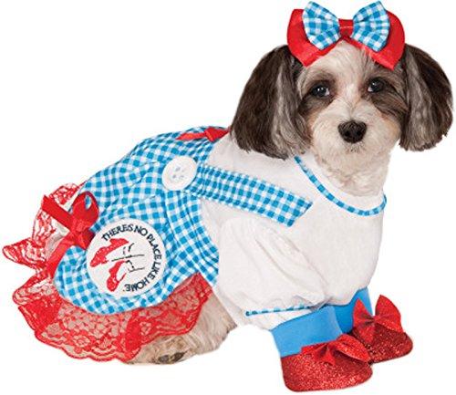The Wizard of Oz Dorothy Dog Costume - Medium