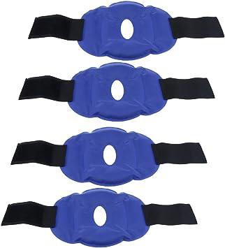 Baoblaze 4x Rodilla Hot Pack Wrap Gel Ice Bag Rodillera Fría Con ...