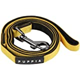 Authentic Puppia Two Tone Lead, Yellow, Large
