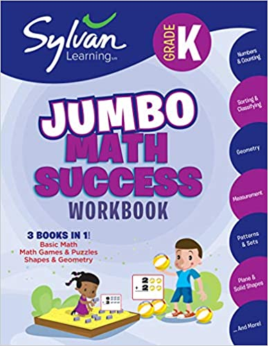 Exercises Keep Up and Tips to Help You Catch Up Kindergarten Jumbo Math Success Workbook: Activities and Get Ahead