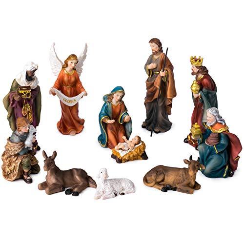 JoyStar Crafts Nativity Set Christmas Crib for Christmas 5 -