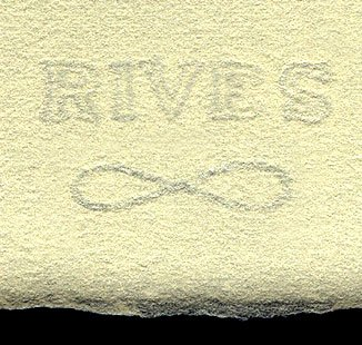Rives Lightweight Cream- Pack of Five 19x26 Inch Sheets by Rives