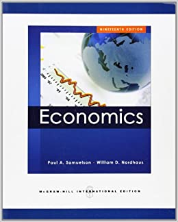 Nordhaus Dk economics int l ed amazon co uk paul samuelson william nordhaus