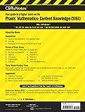 CliffsNotes Praxis Mathematics: Content Knowledge