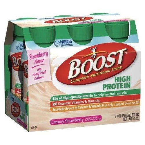 Boost High Protein Strawberry 8 Oz (6 Pk)