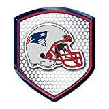 NFL New England Patriots Team Shield Automobile Reflector