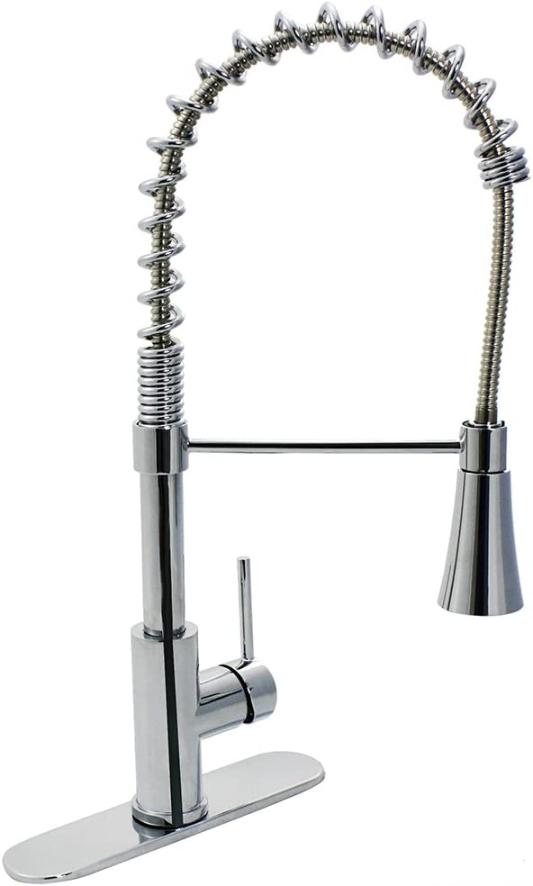 Design House 562579 Kitchen Faucets, Polished Chrome