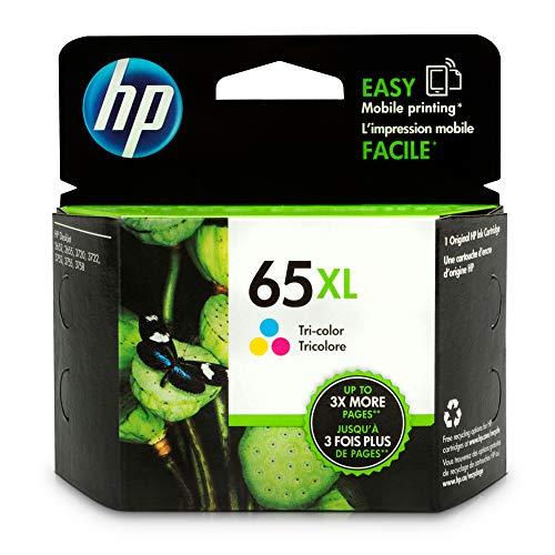 HP N9K03AN#140 65XL Tri-Color Original Ink Cartridge ()