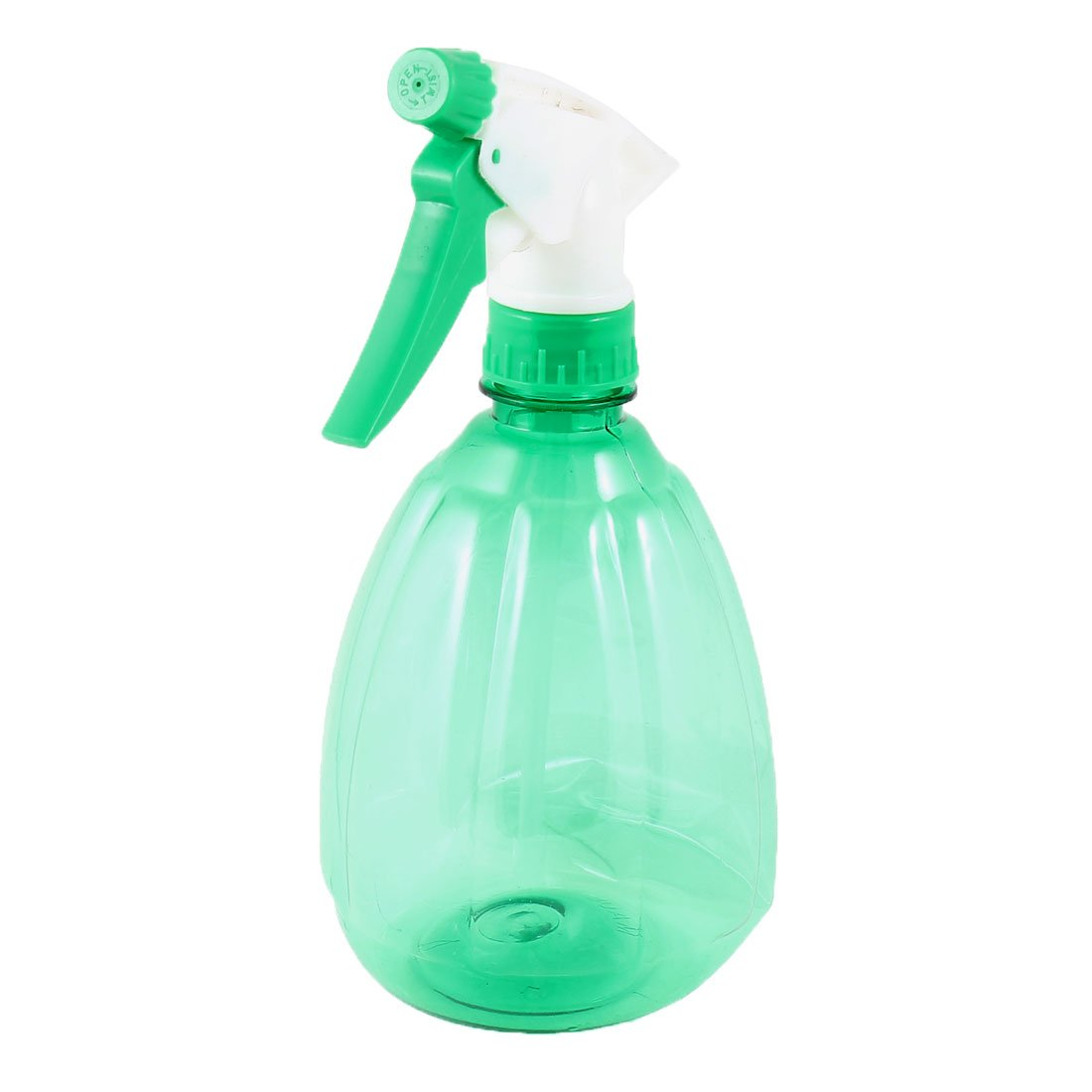 uxcell Plastic Trigger Flower Water Spray Bottle 550ml Two Tone Green a13060300ux0081