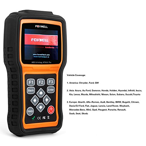 FOXWELL NT630 Scan Tool Engine / ABS / Airbag / SAS Crash Data Reset Tool  Code Reader Car Diagnostic Scanner by FOXWELL (Image #2)'