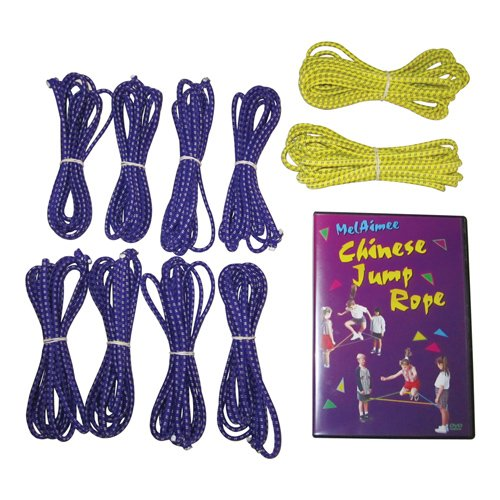 US Games BSN Sports Chinese Jump Rope Set