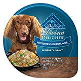 Blue Buffalo Divine Delights Natural Adult Small Breed Wet Dog Food, Rotisserie Chicken Flavor In Hearty Gravy 3.5-Oz (Pack Of 12) Review