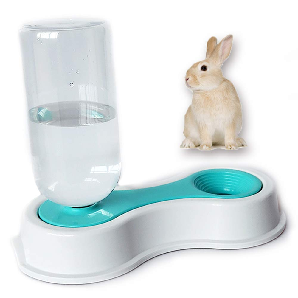 Tfwadmx 500ML Rabbit Water Bottle, Pet Gravity Waterer Feeder Dispenser for Bunny Guinea Pig Dog Cat by Tfwadmx