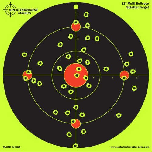 25-Pack-12-inch-Multi-Bullseye-Splatterburst-Shooting-Targets-Gun-Rifle-Pistol-AirSoft-BB-Gun-Pellet-Gun-Air-Rifle