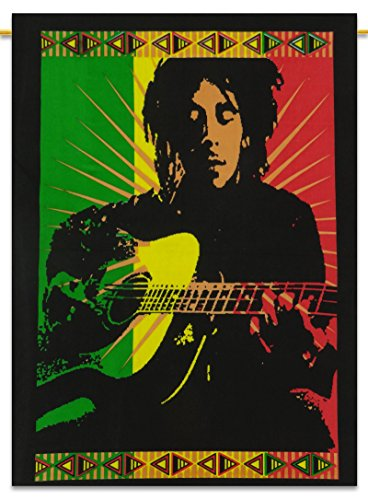 Wall Decor Handicrafts Hanging Cotton Tapestry Bob Marley Boho Throw Poster Size 30