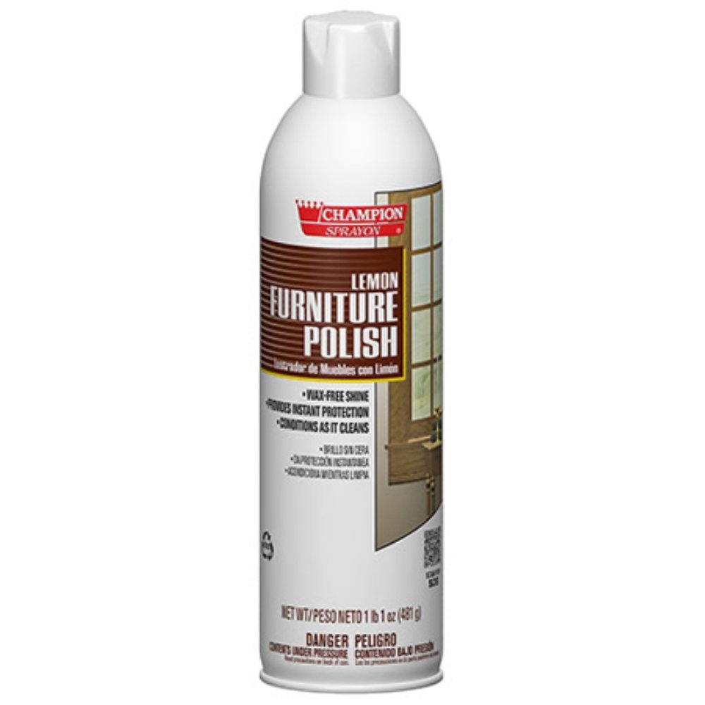 Champion Sprayon Furniture Polish - 17 oz. Net Wt. -(1 CASE)