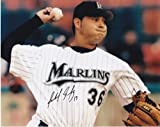 Anibal Sanchez Signed Picture - 8x10 - PSA/DNA Certified - Autographed MLB Photos