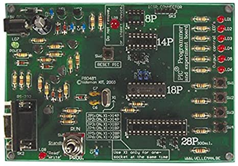 PIC PROGRAMMER AND EXPERIMENT BOARD