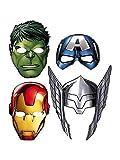Avengers Assemble Paper Masks (8ct)