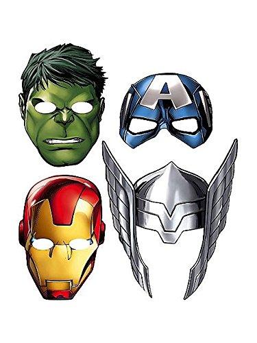 Hallmark Avengers 'Assemble' Paper Masks (8ct) -