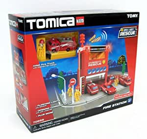 Tomica Hypercity FIRE STATION by Tomy (USA)