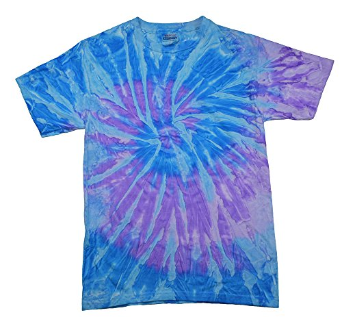 - Tie Dye T-shirts Spiral Lavender Blue Kids & Adult Sizes (XX-Large)