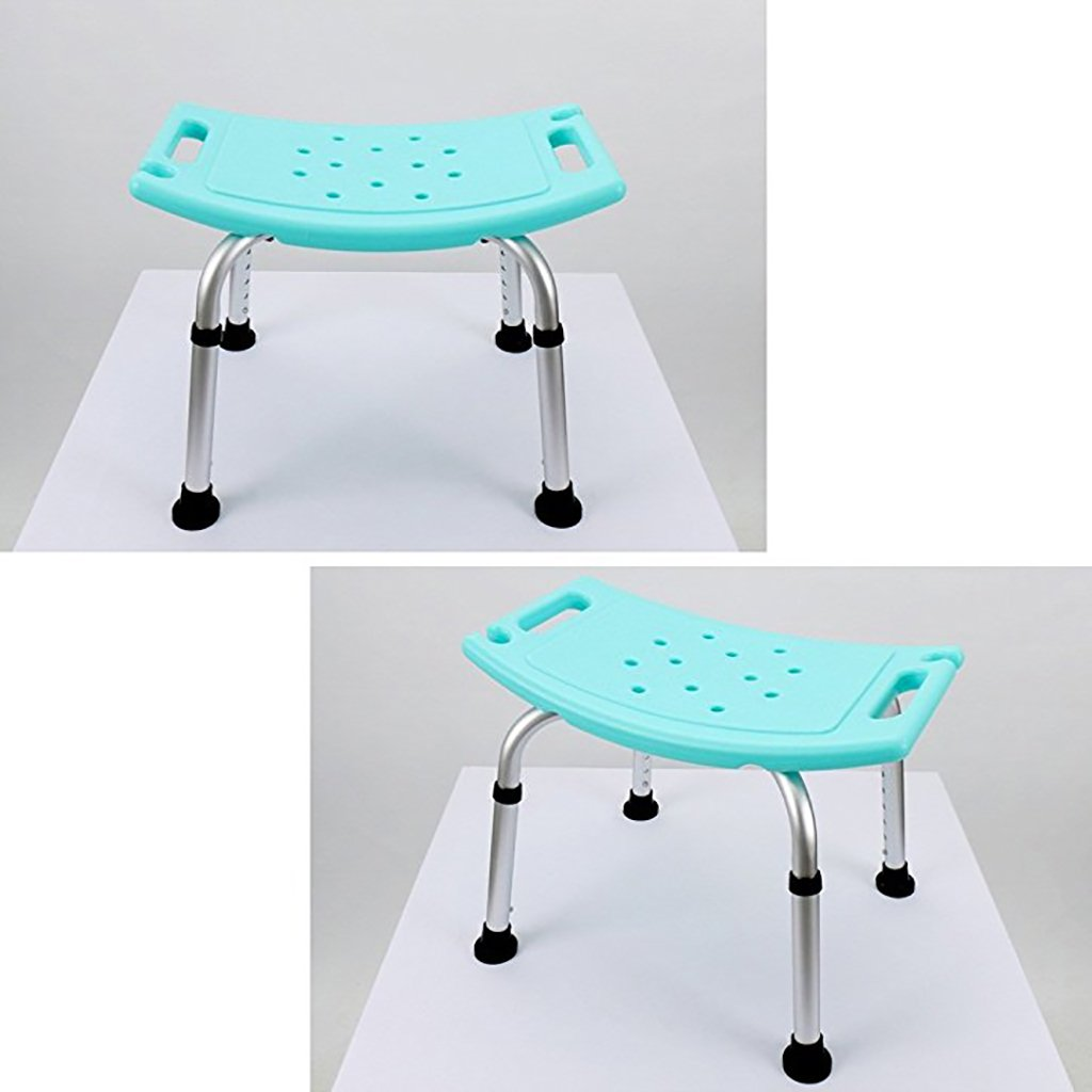 Amazon.com: GJ-linyud Shower/Bath Stools Aluminum Alloy Shower Seat ...
