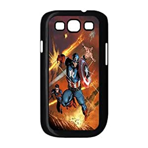 FOR Samsung Galaxy S3 -(DXJ PHONE CASE)-Caption American Superhero-PATTERN 17