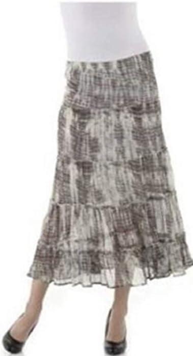 Aniston CASUAL Stufenrock mit großen Volants
