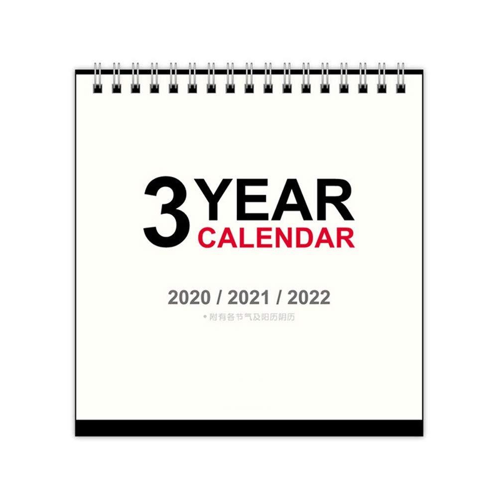 SSN 2020 Business Simple Memo Calendar Desktop Decoration Calendar Home Office School Calendar Work Plan Desktop Notepad Calendar by SSN
