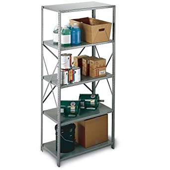 "Industrial-Grade Shelving - Open Shelving - 48X24x87"" - Starter Unit"