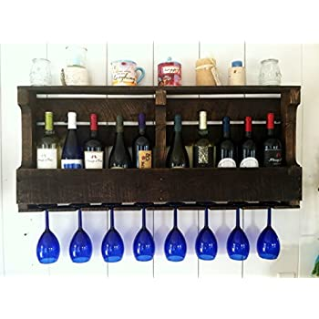Perfect Amazon.com: Great Lakes Reclaimed Wall Mounted, Wine Rack Espresso  RX23