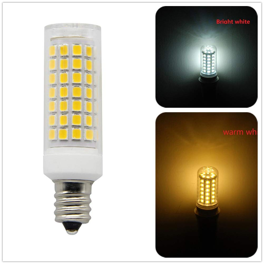 E12 Base 6500K Daylight 750Lumens for Garage Warehouse Factory Workshop Super Bright Corn LED Light Bulb