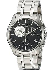 Tissot Mens T035.439.11.051.00 Black Dial Couturier Watch