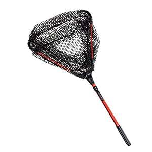 Docooler portable lightweight folding net fishing landing for Amazon fishing net