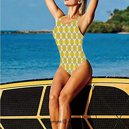 Women Bathing Costume,and Double Mesh Ikat Motifs Camouflage,Water Activities