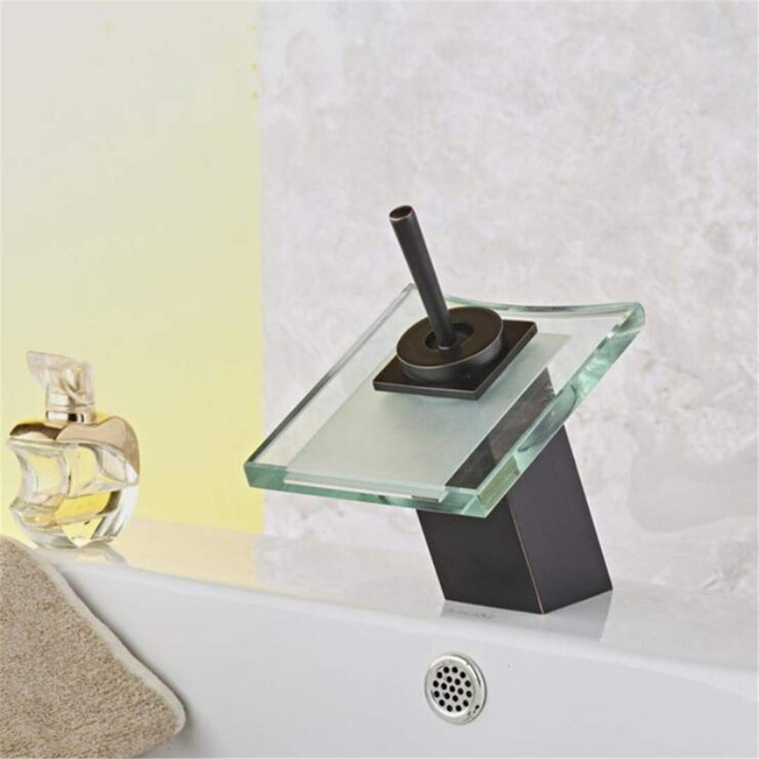Faucet Washbasin Mixer Bathroom Waterfall Faucet Glass Waterfall Brass Basin Faucet. Bathroom Mixer Tap Deck Mounted Basin Sink Mixer Tap The Orb Fauce