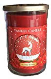 Yankee Candle Large 2 Wick RED HOT HOLIDAY Tumbler Candle