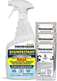 Performacide Hospital & Home Disinfectant - 96 Oz Kit - Effective Against Coronavirus, Influenza-A, Rhinov