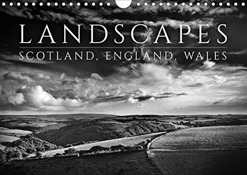 Landscapes - Scotland, England, Wales / UK-Version 2020: Atmospheric Black and White Landscape Photographs of Scotland, England and Wales. (Calvendo Nature) Black White Landscape Photographs