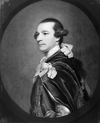 2Nd Marquis Of Rockingham N(1730-1782) Charles Watson-Wentworth Oil On Canvas From The Studio Of Sir Joshua Reynolds Poster Print by (18 x 24) ()