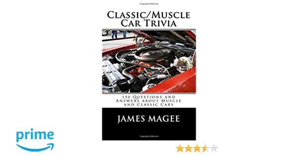 muscle car trivia and answers