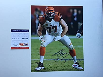 6d8cf24e929 Image Unavailable. Image not available for. Color  Andrew Whitworth Hot! signed  autographed Bengals 8x10 photo PSA DNA cert