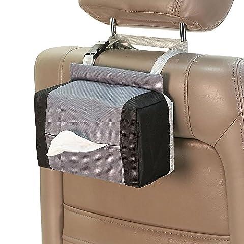FH Group FH1133GRAY Tissue Dispenser (E-Z Travel for Cars) (Touareg Oxford)